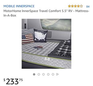MotorHome Mattress made by Mobile Innerspace [BRAND NEW/Mattress in a Box] for Sale in Simi Valley, CA