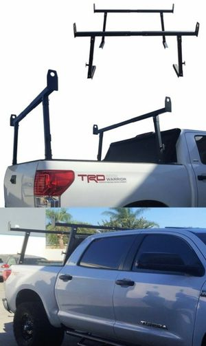 New in box universal set of 2 width adjustable ladder truck racks 650 lbs capacity for Sale in San Dimas, CA