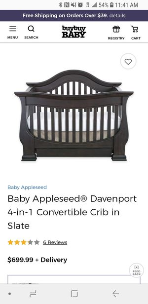 2 Buy Buy Baby Convertible Cribs for Sale in Tampa, FL