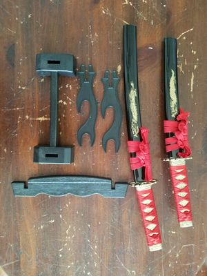 Used, 2 decorative wakizashi mini blades for Sale for sale  Riverview, FL