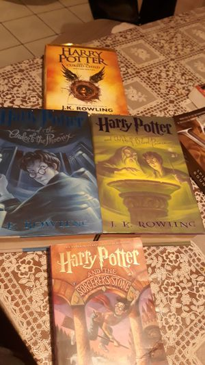 Harry potter books for Sale in City of Industry, CA