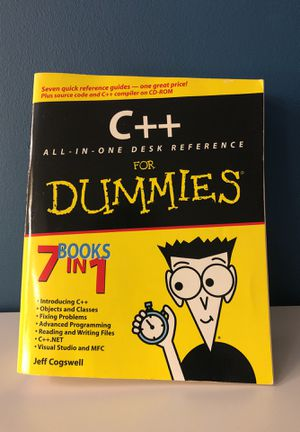 C++ For Dummies for Sale in New York, NY