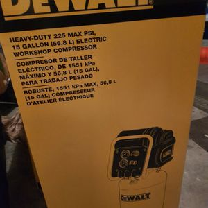 15. Gal Portable Electric Air Compressor for Sale in American Fork, UT