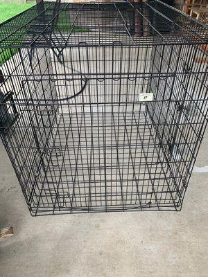 XXL double door dog crate for Sale in Cypress, TX