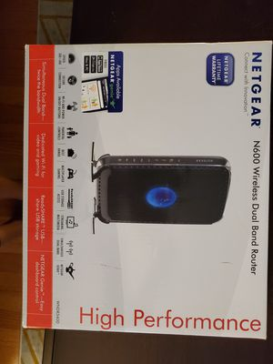 Wireless Dual Band Router for Sale in Maywood, IL