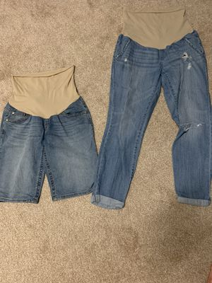 Maternity jeans and shorts for Sale in Kissimmee, FL