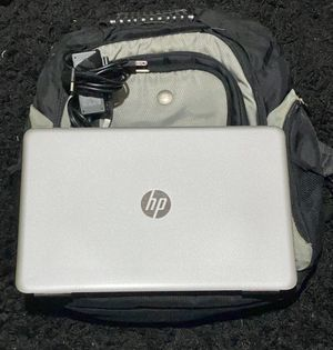 "15.6"" HP Pavilion Notebook Touchscreen with Dell Laptop Backpack for Sale in Long Beach, CA"