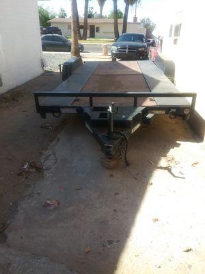 2014 Car hauler 8-1/2 x18 dove tail trailer for Sale in Phoenix, AZ