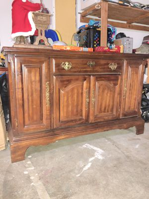 Sold Wood TV Stand Cabinet Furniture Storage for Sale in Brentwood, CA