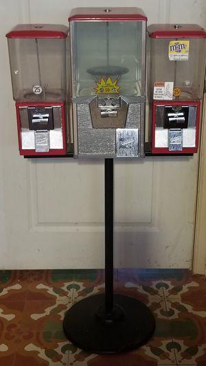 Gumball toy vending machine triple head for Sale in McAllen, TX