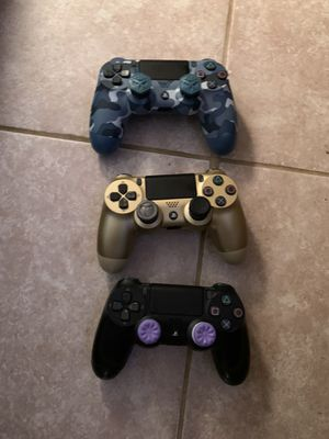 Ps4 controllers for Sale in Boston, MA