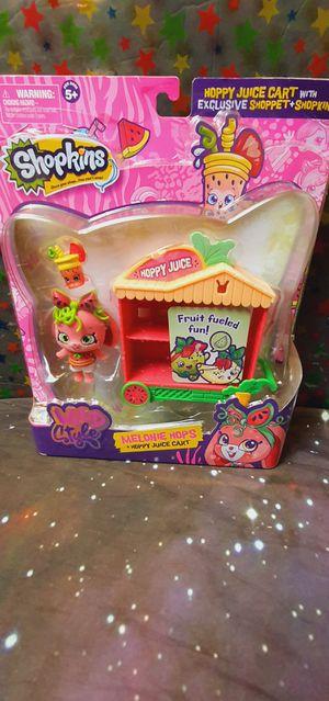 Shopkin Melonie Hops Hoppy Juice Cart New Toy for Sale in Santa Ana, CA
