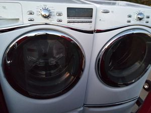 2019 almost like new never been used whirlpools best Gold Series washer $180 dryer $180 will sell separate for Sale in Arlington, TX