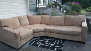 Radley Sofa Sectional from Macys - Like New - Delivery Available for Sale in Seattle, WA