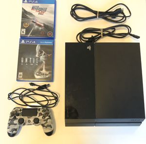 Great Condition PS4 with 2 games for Sale in St. Louis, MO