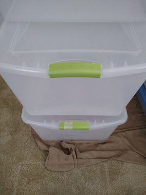 3 Storage containers, great shape for Sale in NEW PRT RCHY, FL
