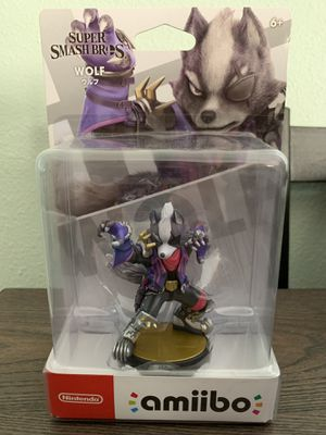 Wolf Amiibo for Smash Bros BRAND NEW UNOPENED for Sale in Los Angeles, CA