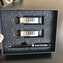 Audi Leather Keychain Set for Sale in Vienna,  VA