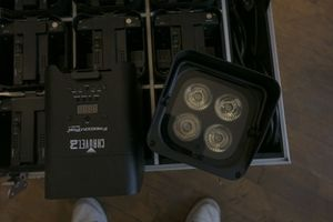 Chauvet DJ Freedom Par Quad-4 & Freedom Charge 9 Package for Sale in St. Louis, MO