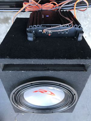 Subwoofer alpine r12 for Sale in Los Angeles, CA