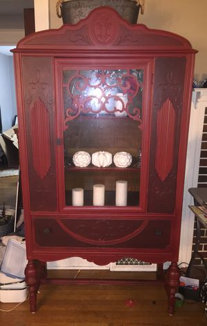 Beautifully Restored Antique China Cabinet for Sale in Williamsport, PA