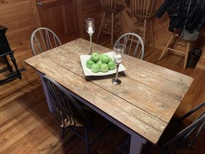 Farmhouse table and chairs for Sale in Lexington, VA