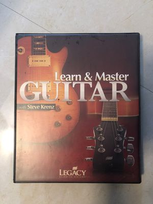 DVD SET -Learn & Master Guitar (LEGACY Learnjng Systems) for Sale in Plantation, FL