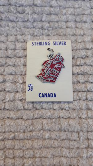 Canada Vintage Sterling Silver Charm for Sale in Chandler, AZ