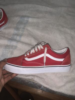 Barley warn all red vans for Sale in Houston, TX