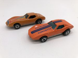 Hot Wheels Vintage 1988/90 Corvette Stingray - Lot of 2 for Sale in Maple Valley, WA