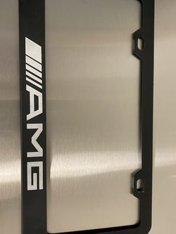 AMG license Plate Frame for Sale in Los Angeles,  CA