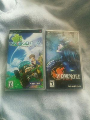 Psp. Innocent. Life. Valkyrie. Profile for Sale in Hawthorne, CA