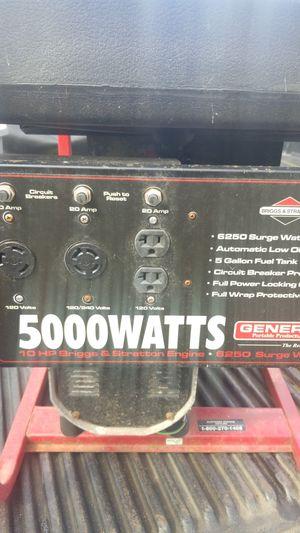 Generac 5000watt Generator for Sale in Hanover, MD