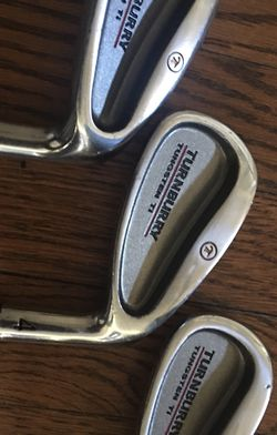 Turnburry Tungsten Ti 3,4 and 9 Irons for Sale in Highland,  CA