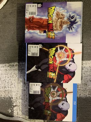 Dragon Ball Super DVD Blu-Ray Z 9 & 10 for Sale in Eagan, MN
