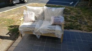 Brand New Patio Furniture loveseat only tax included and pick up only for Sale in Hayward, CA