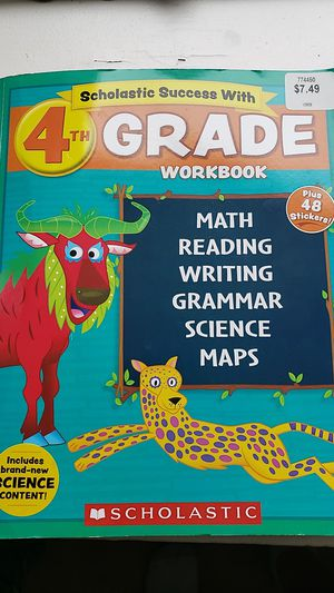 4th Grade Workbook for Sale in New Market, VA