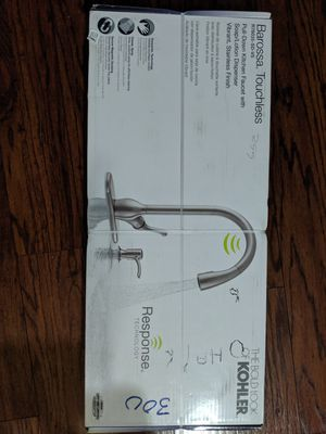 Kohler Barossa Touchless kitchen faucet for Sale in Los Alamitos, CA