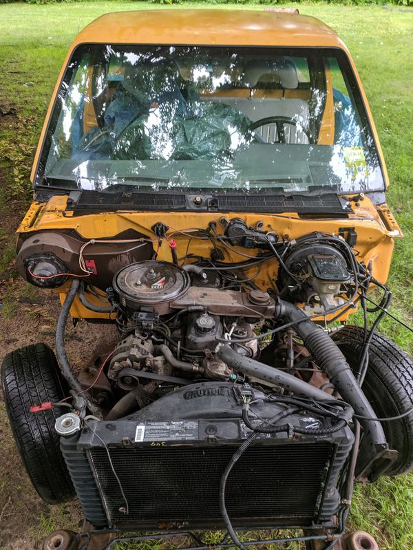 Iron Duke tech 4 motor and transmission