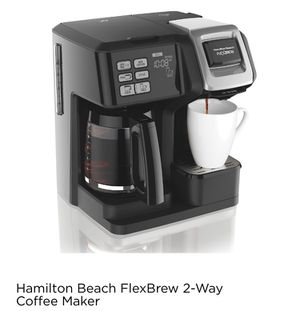 Hamilton Beach flex brew 2-way coffee maker for Sale in Nashville, TN