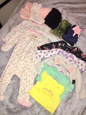 Free Baby Girl Clothes Size 3 Months for Sale in South Gate, CA