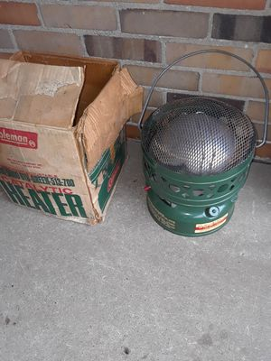 Vintage Coleman heater for Sale in Indianapolis, IN