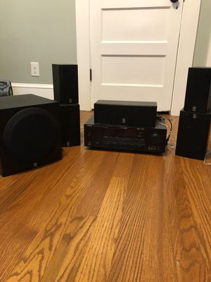 Home Theater System - Yamaha 6 speakers for Sale in Durham, NC