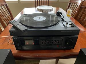 Sony 1993 stereo component system pl-lx295, ax-301 for Sale in Vancouver, WA