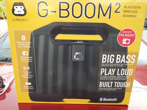 G boom wireless Bluetooth speaker for Sale in Cleveland, OH