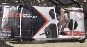 Brand New 100 lb CAP Weight Set for Sale in West Chicago, IL