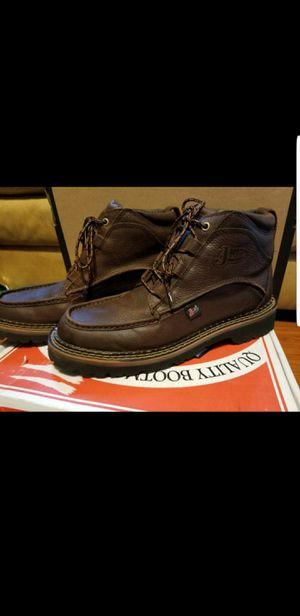 Justin Men's Rustic Cowhide Dark Brown Sport Chukka Boots 12M for Sale in Baytown, TX