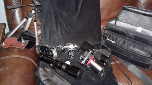 Nikon FG 35mm camera with accesorys for Sale in Colton, CA