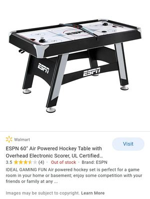 NEW- UNOPENED-Air Hockey Table- BEST OFFER for Sale in Burlington, NC