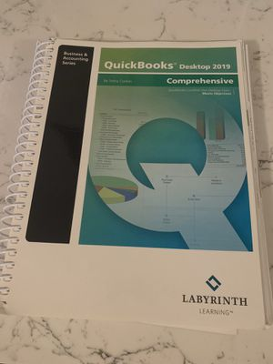 QuickBooks 2019 textbook Acct 150 for Sale in San Diego, CA